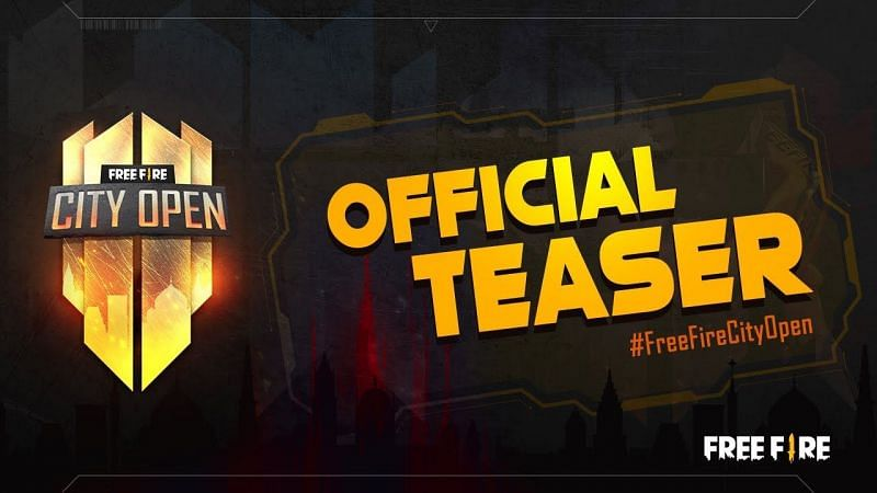 The Free Fire City Open had an official teaser launch as well