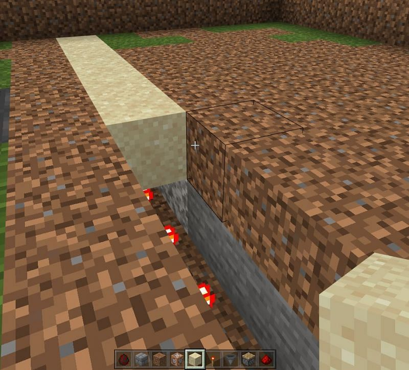 How to build pumpkin farm in Minecraft