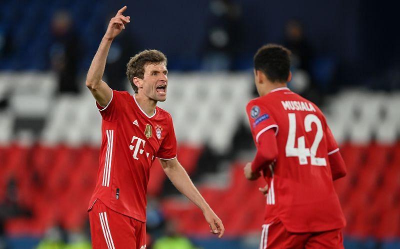 Bayern Munich won the treble last season
