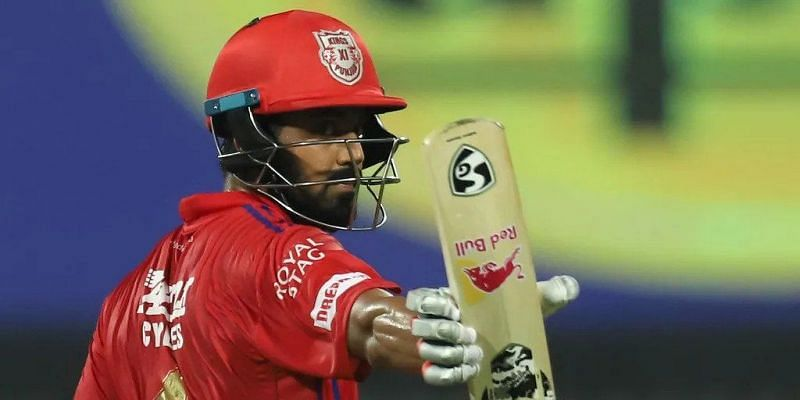 KL Rahul played a sublime knock of 69 and set up a daunting target for RR