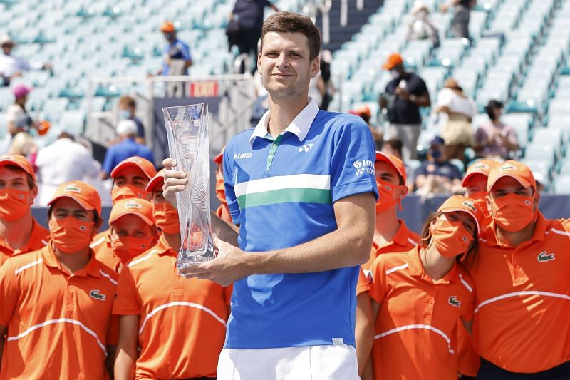 Hurkacz became the first Polish male player to win a Masters 1000 singles title