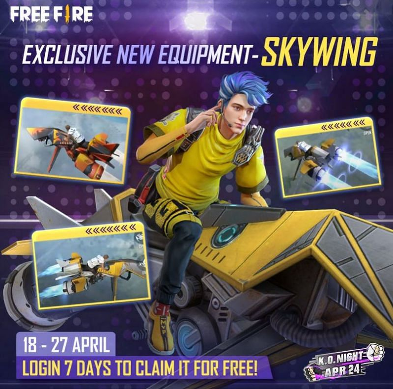 Get Skywing for free by logging in for 7 consecutive days