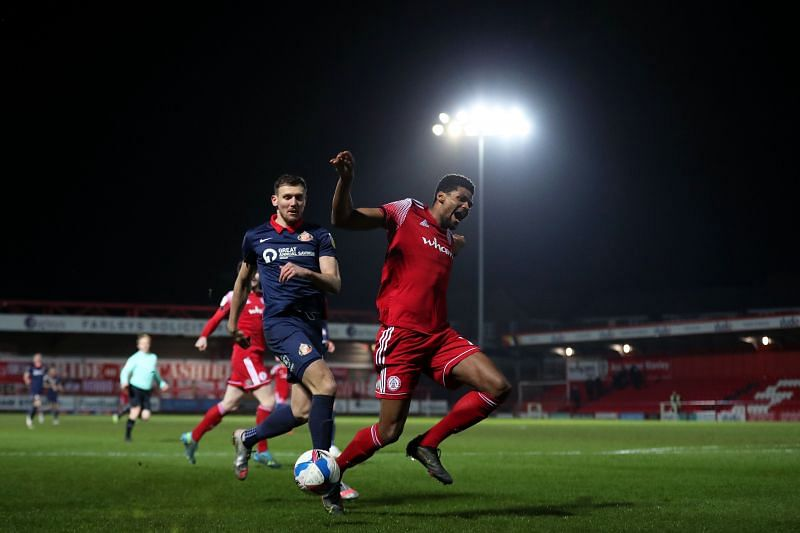 Accrington Stanley lost the reverse fixture at home 0-2 just over a month ago