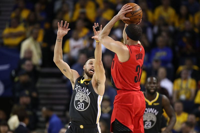 Portland Trail Blazers v Golden State Warriors