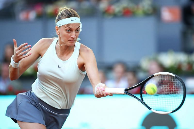 Petra Kvitova will look to take on the role of the aggressor in the match.