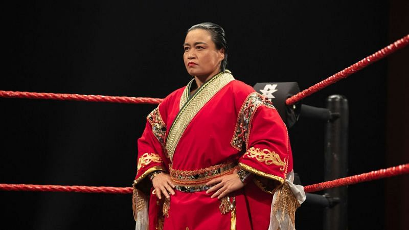 Meiko Satomura was in action once more on NXT UK