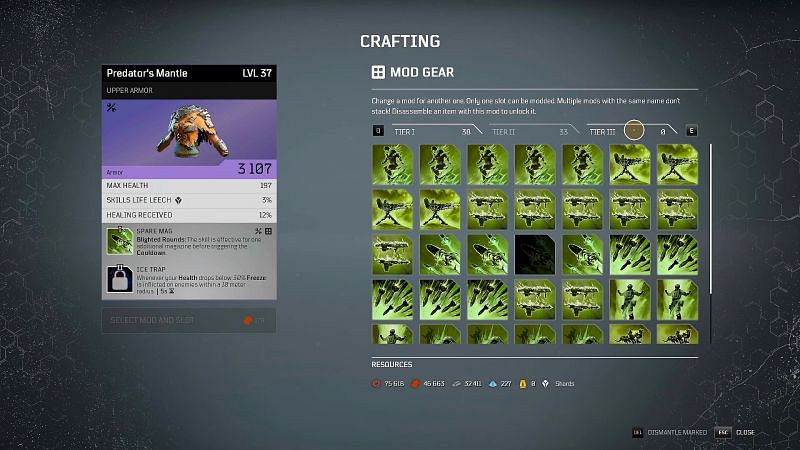Outriders crafting guide: Mod System