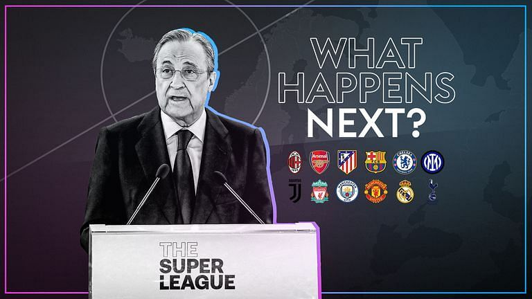 Florentino Perez, Chairman of Super League and the mastermind behind the project