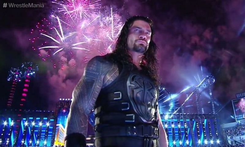 Roman Reigns at WrestleMania 33.
