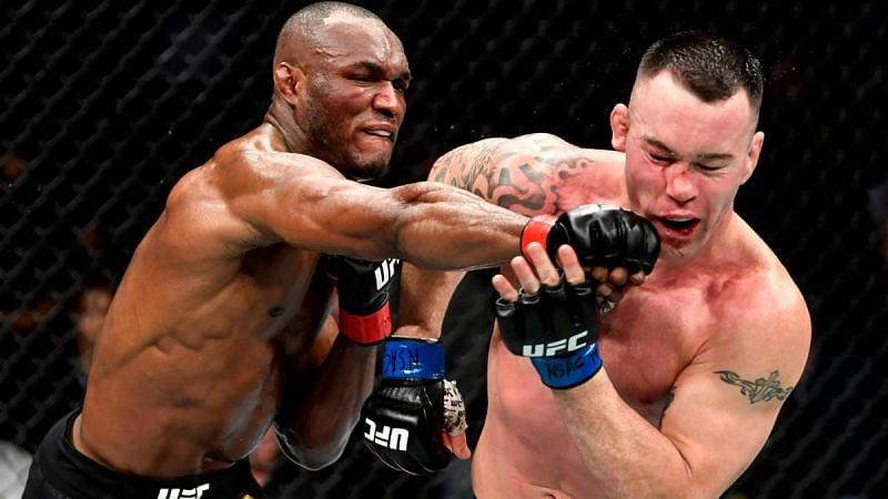 Kamaru Usman knocks out Colby Covington at UFC 245