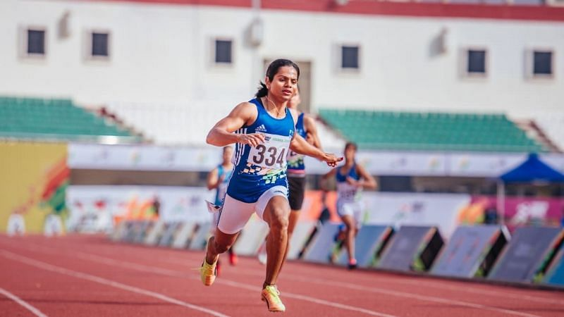 Dutee Chand will spearhead the Indian challenge at World Athletics Relays. (Source: Olympic Channel )