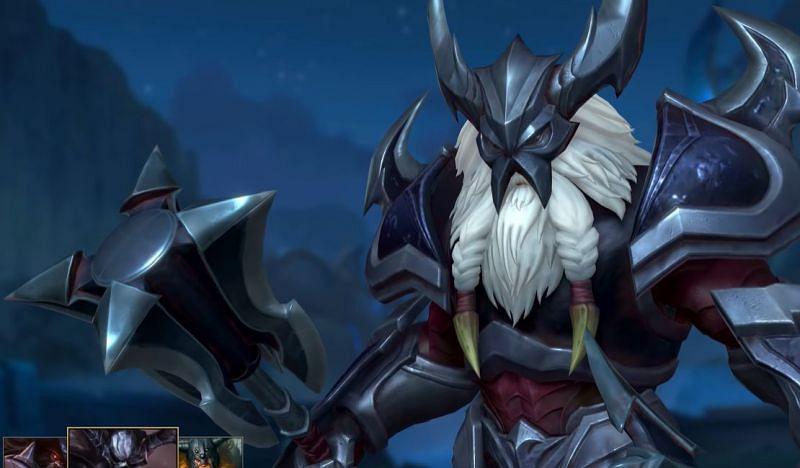 Marauder Olaf in Wild Rift (Image via Riot Games)