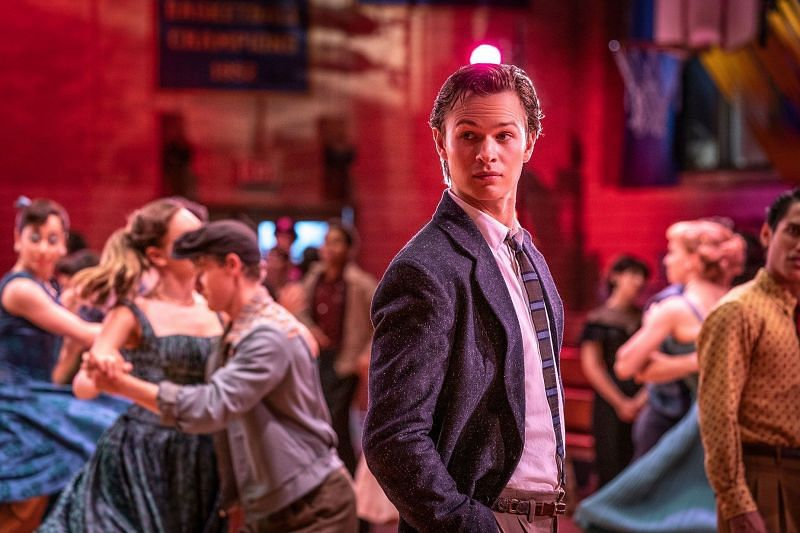 Ansel Elgort in West Side Story