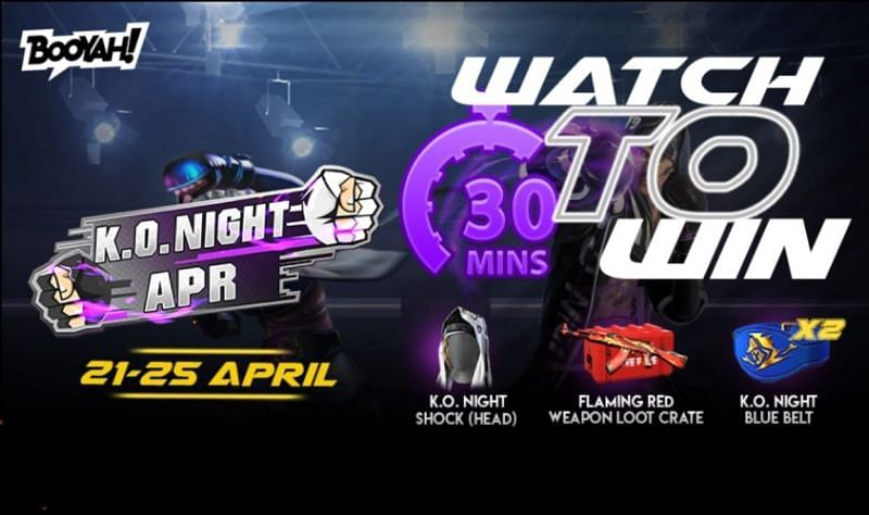 New K.O. Night watch-to-win event promises exciting free rewards for players