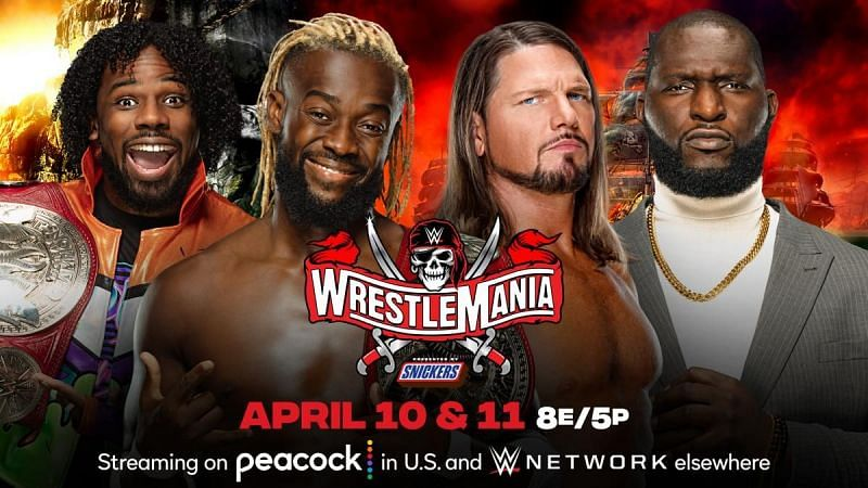 New Day vs Styles and Omos