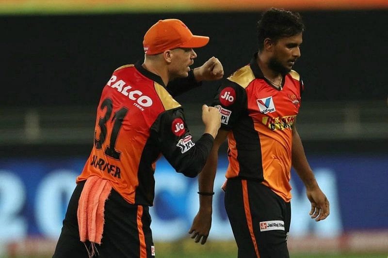 T Natarajan was the go-to man for David Warner in IPL 2020.