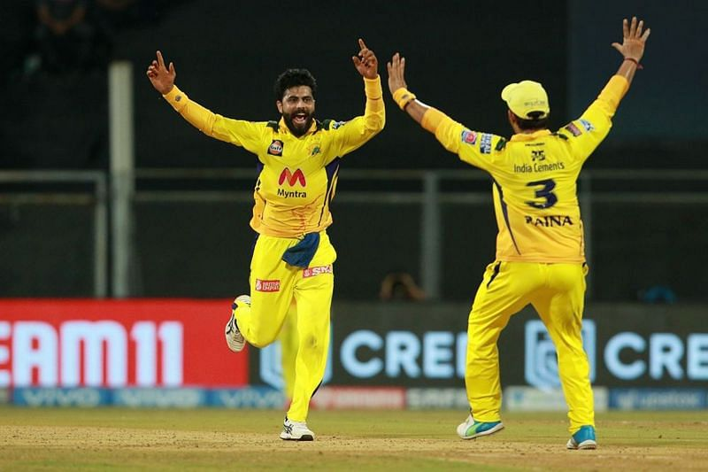 Ravindra Jadeja and Moeen Ali spun RR out of the contest.