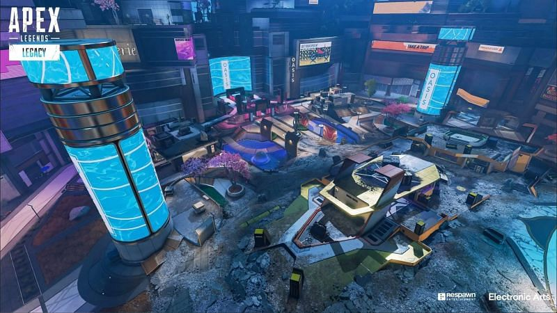 The new Arena mode in Apex Legends brings 5 maps for players to enjoy (image via Electronic Arts)