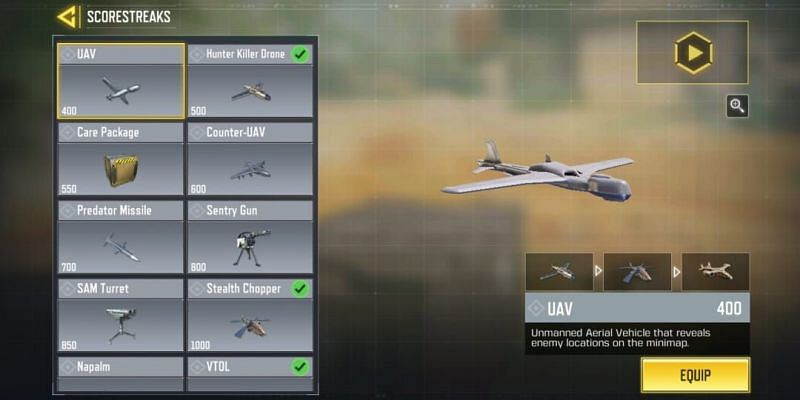 Players should choose Scorestreaks wisely in COD Mobile (Image via Activision)