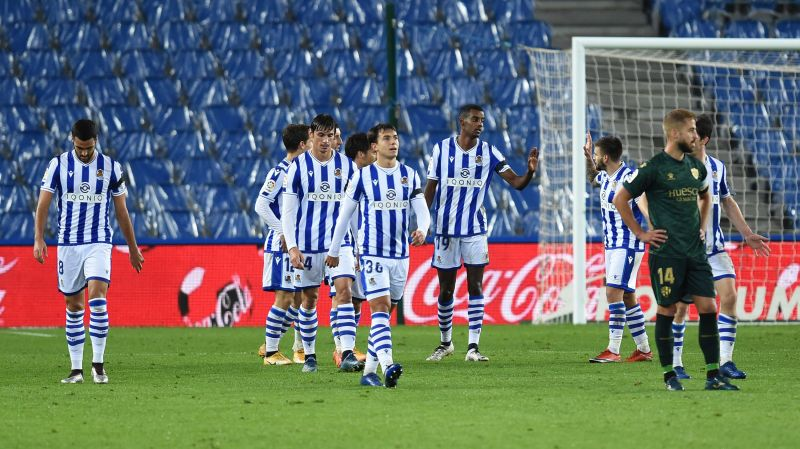 Real Sociedad take on SD Huesca this weekend