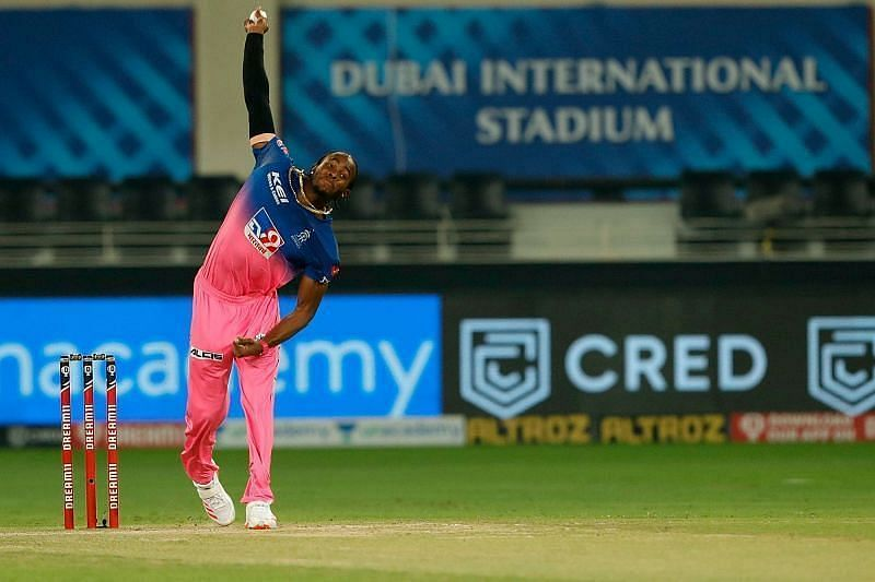 Jofra Archer starred with the ball for the Rajasthan Royals in IPL 2020 [P/C: iplt20.com]