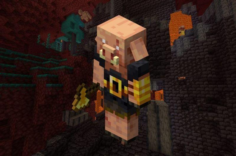 Minecraft Piglin (Image via gamepur)