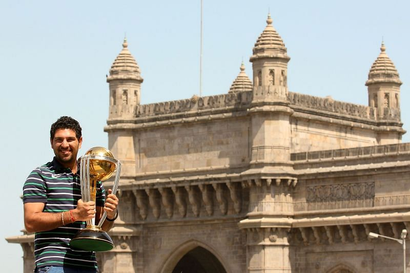 Yuvraj Singh was the Man of the Tournament at the 2011 World Cup