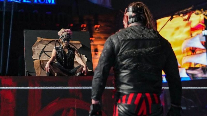 Alexa Bliss and The Fiend at WrestleMania 37