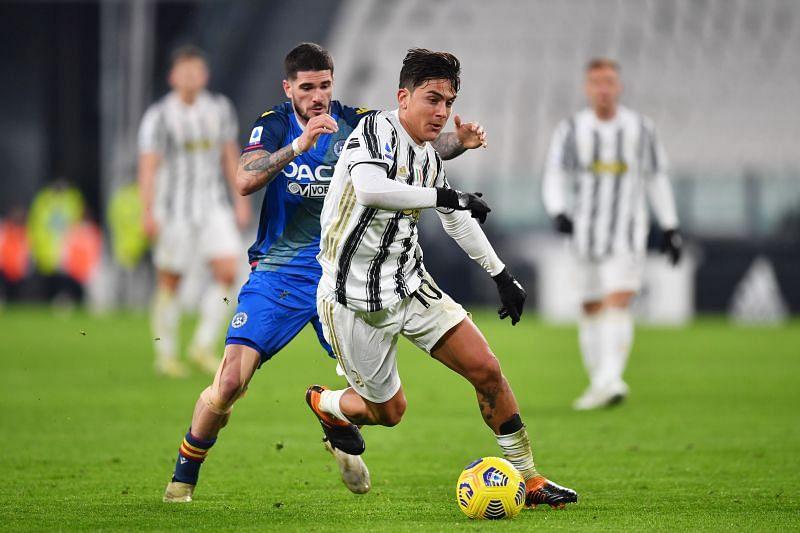 Udinese welcome Juventus to the Stadio Friuli on Sunday
