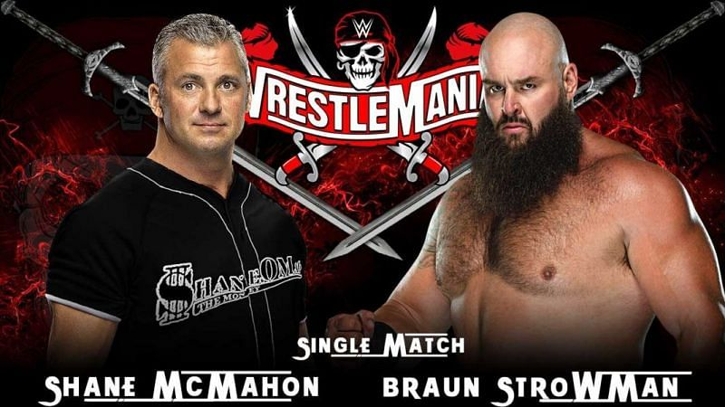 शेन मैकमैहन vs ब्रॉन स्ट्रोमैन