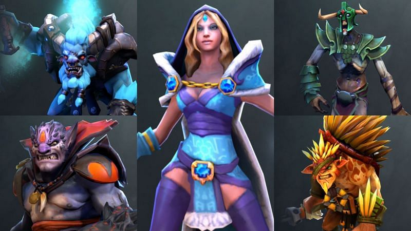 Best Dota 2 heroes for new players in 2021 (Images via Valve)