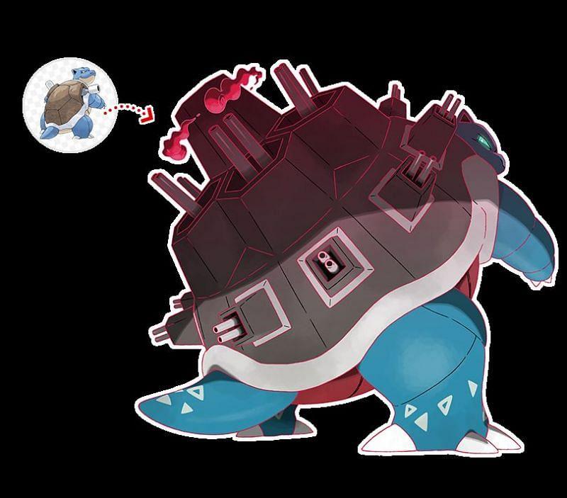 Gigantamax Blastoise - Abilities