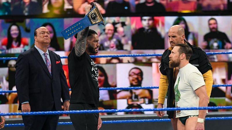 WWE Raw एवं SmackDown में होनी चाहिए