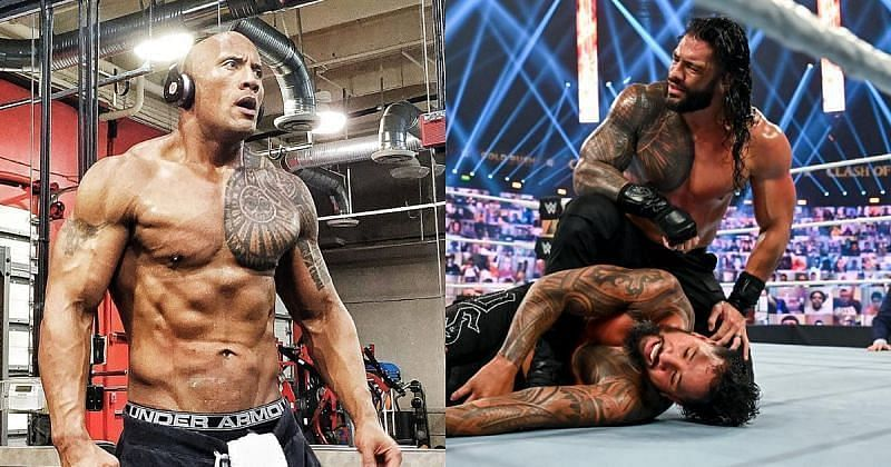 The Rock and Roman Reigns could face off down the line