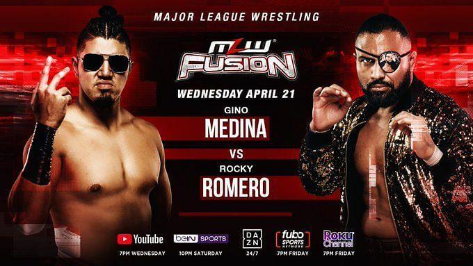 MLW Fusion Match One: Gino Medina vs. Rocky Romero
