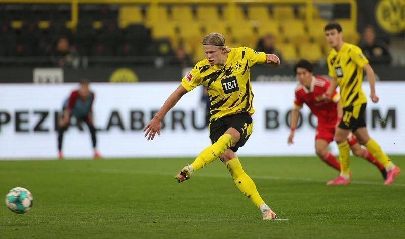 Erling Haaland has been sensational in Dortmund. (Photo by Friedemann Vogel - Pool/Getty Images)