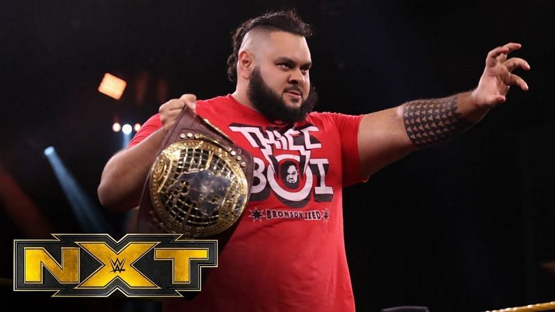 Will Reed hoist the title as Champion at Night 2 of TakeOver: Stand & Deliver?
