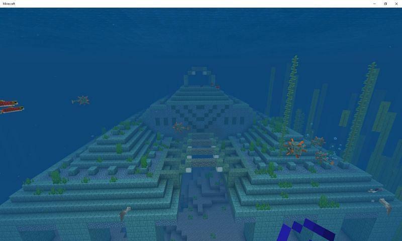 Ocean Monument Image via Mojang