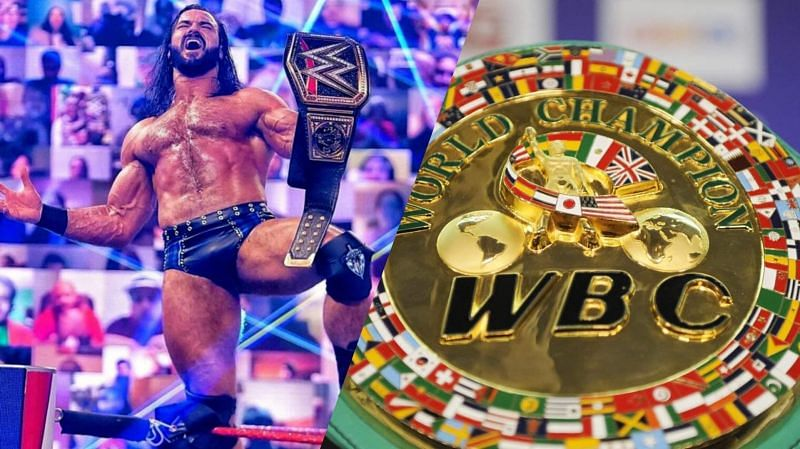 Drew McIntyre could be on-track to face WBC Champion Tyson Fury (Credit: WWE/Sky Sports)