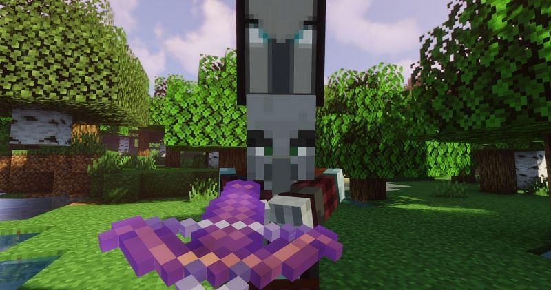 Unless the player is looking to start a raid, Pillager Patrols are never a good sight (Image via Minecraft)