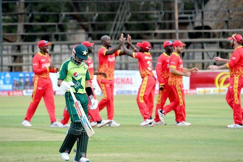 Zimbabwe stunned Pakistan at the Harare Sports Club.