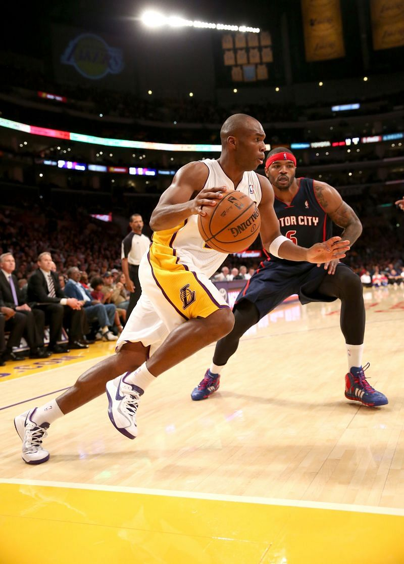 Detroit Pistons v Los Angeles Lakers