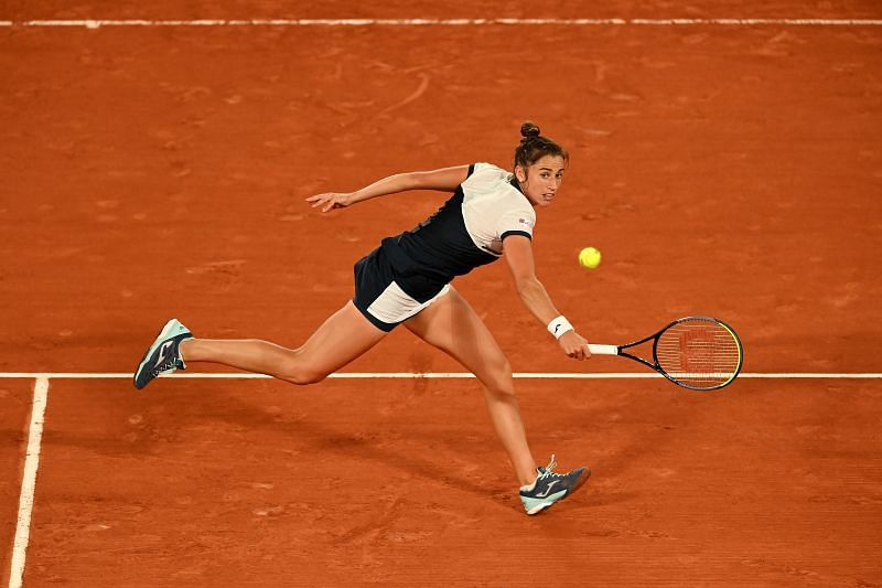 Sara Sorribes Tormo at the 2020 French Open