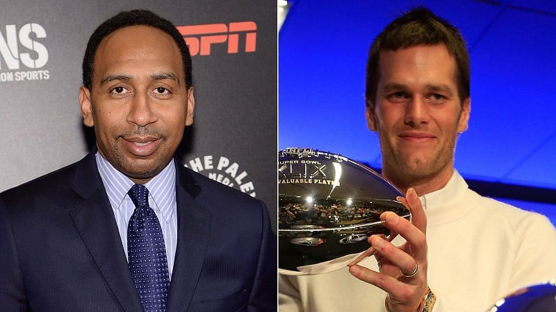 Tom Brady and Stephen A. Smith