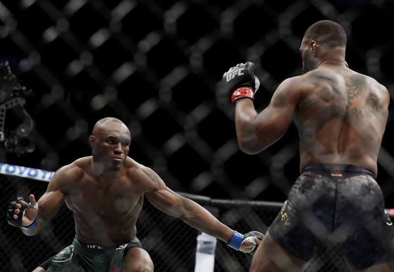 Kamaru Usman is the first African-born UFC champion