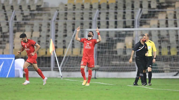 Persepolis FC are on top of Group E in the Champions League. (Image: AFC)