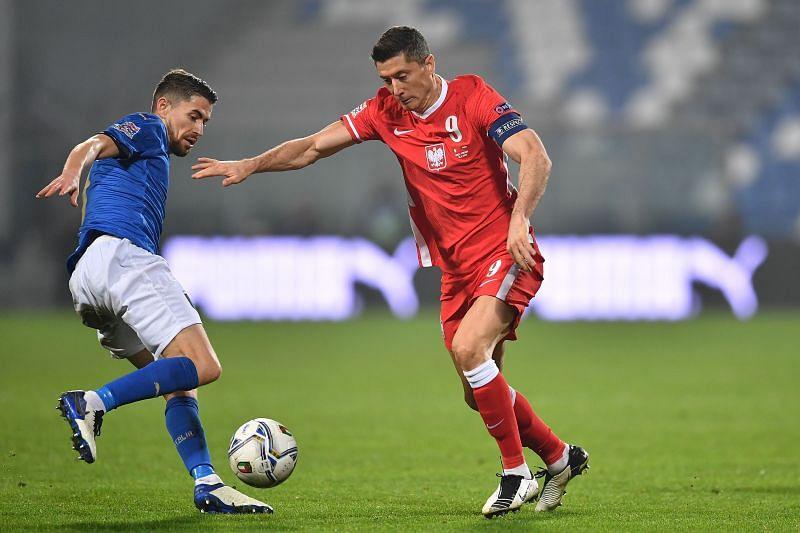 Poland clearly missed injured striker Robert Lewandowski tonight.