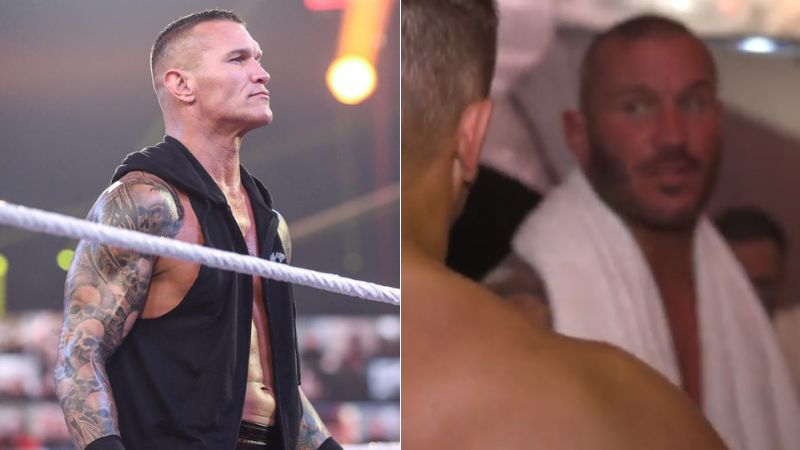 Randy Orton spoke to The Miz after his WWE Championship victory