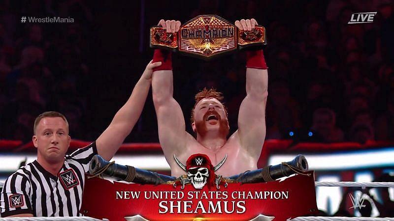 United States Champion Sheamus