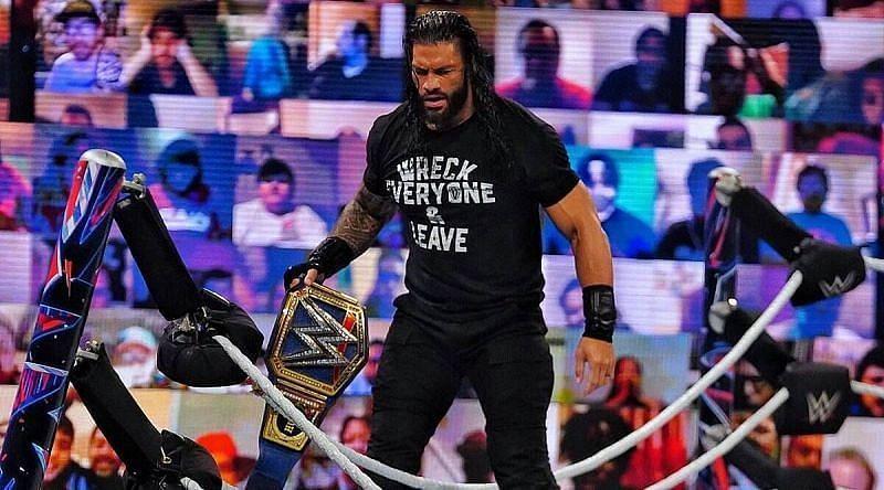 WWE SmackDown में रोमन रेंस करेंगे अपनी चैंपियनशिप डिफेंड